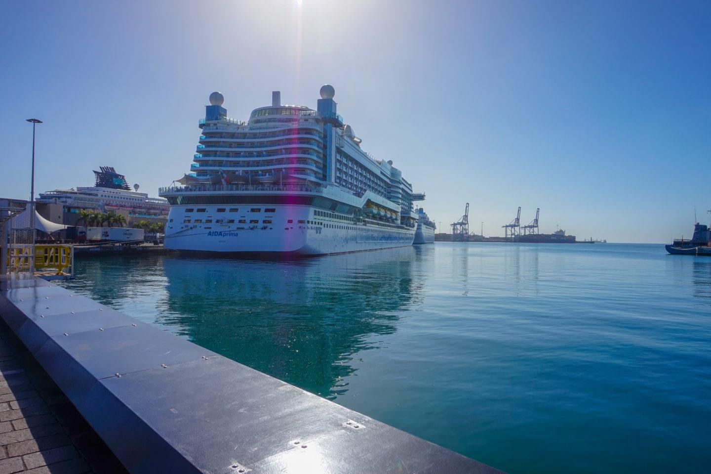 AIDA Prima – Nächster Hafen Gran Canaria