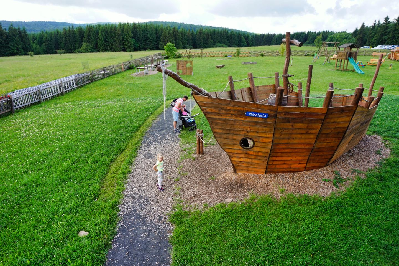 Arche Rhön und Noah's Segel