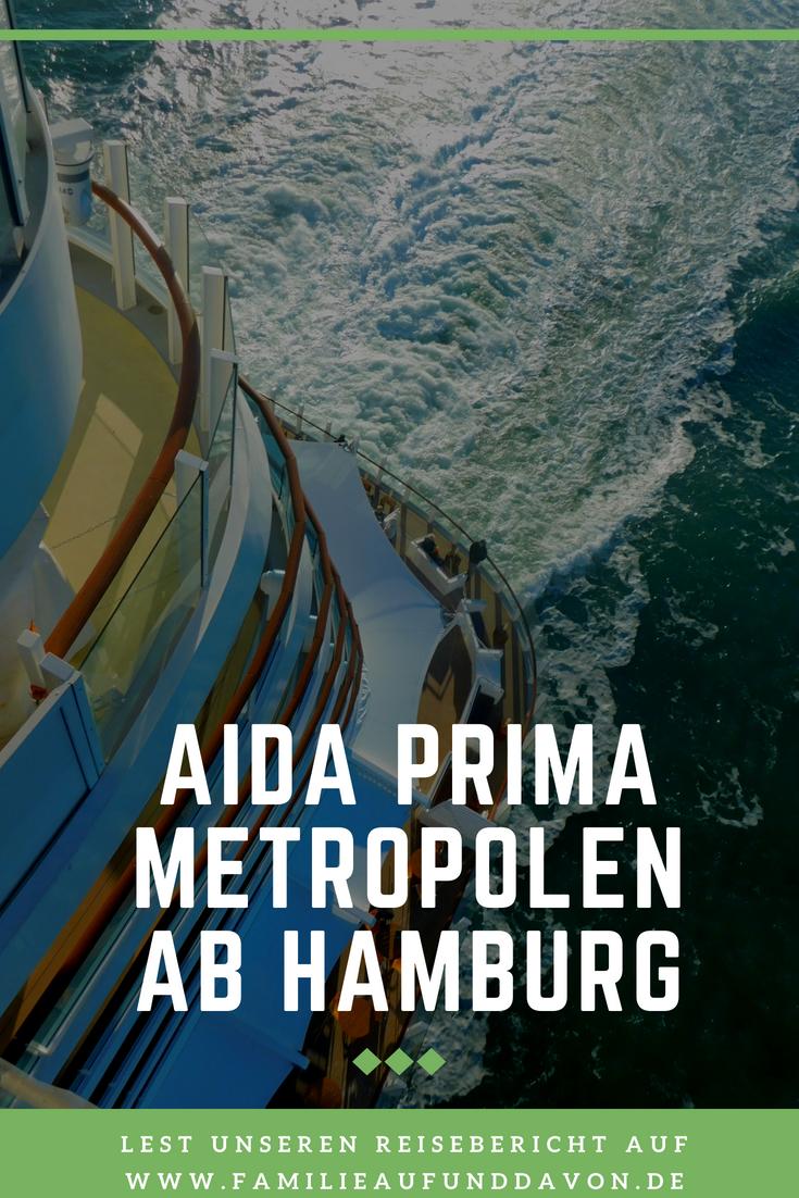 AIDA Prima - Metropolentour