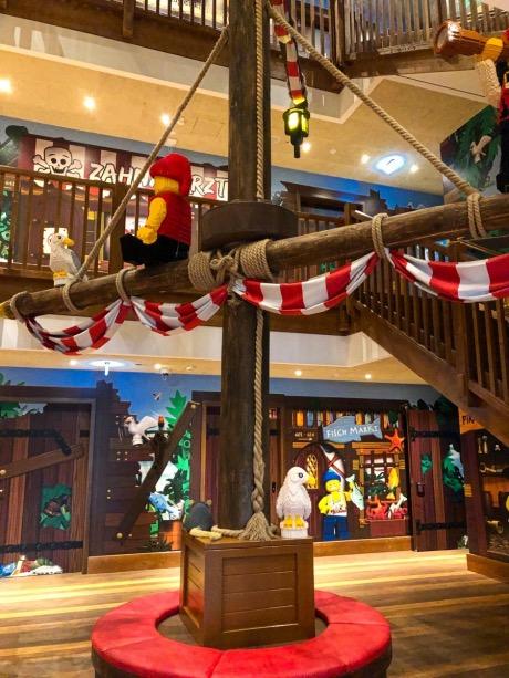 Piratenhotel Eingangsbereich