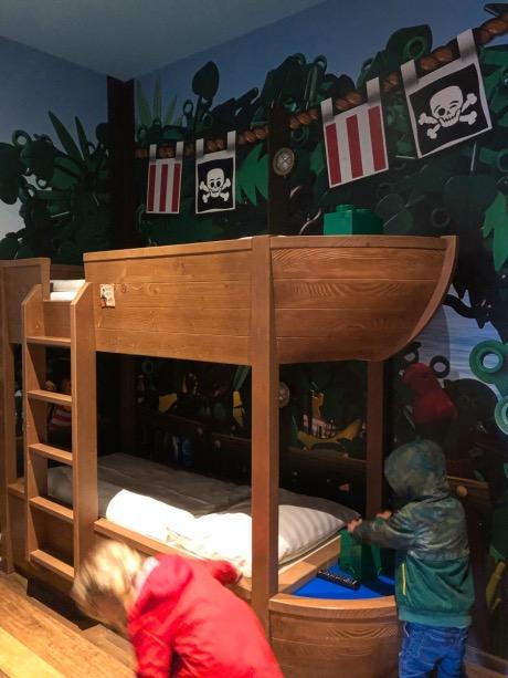 Piratenhotel Zimmer